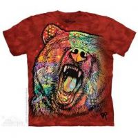 Russo Grizzly T-shirt | Adult Bear T-shirts | The Mountain®